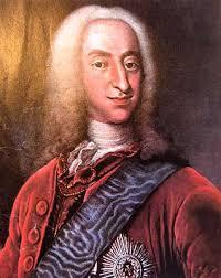 Han blev efterfulgt af sin søn Christian 6. ( 30. november 1699 - 6. august 1746 ) som Danmark-Norges konge. - Kong_Christian_VI_af_Danmark_og_Norge
