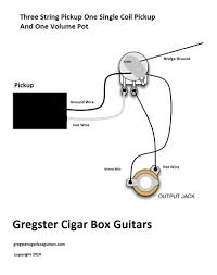 guitar wiring diagram 1 pickup 1 volume guitar cigar box guitar wiring diagram cigar wiring diagrams on guitar wiring diagram 1 pickup 1