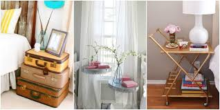 Extraordinary Unique Ideas For Bedside Tables 50 On Small Home