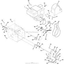 Ariens 921007 000101 st924let parts diagram for engine and belt rh jackssmallengines