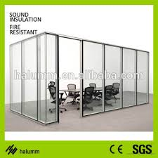 used office room dividers. Material Used Building Partition Wall Interior Glass Soundproof Room Divider Office Dividers