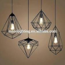 metal cage light metal cage light modern industrial led pendant lamp outdoor geometric metal cage chandelier metal cage light