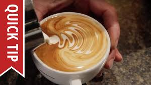 A good espresso is art itself, but latte art is a term that refers to different patterns made on the foam that forms on top of espressos. How To Create Latte Art Youtube