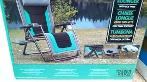 timber ridge chairs costco zero gravity lounge chair furniture ideas chaise simple chairs anti gravity lounge