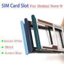 Mới Dành Cho Xiaomi Redmi Note 9 Sim Khe Cắm Thẻ SD Thẻ Khay Đựng  Adapter|Mobile Phone Housings & Frames