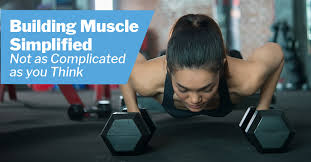 building muscle simplified not as