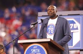 "Buffalo Bills: NFL Films making ""A Football Life"" documentary about Bruce  Smith"