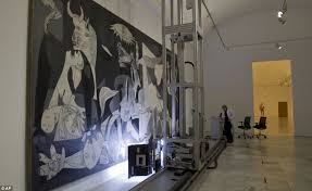 taking a close look the robot called pablito scans every inch of pablo picasso s guernica