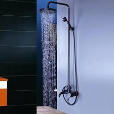 oil rubbed bronze handheld shower head spray paint moen