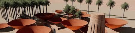 Bm Design Studio 9 Concave Roof Bm Design Studios Contemporary Ceramic Art