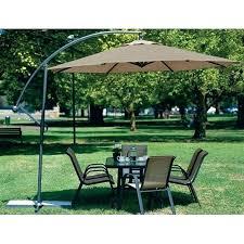 simply shade offset patio umbrella cantilever outdoor