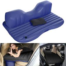 Back Seat Bed Ancheer Car Air Bed Outdoor Travel Air Mattress Rest Pillow