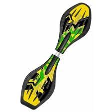 «Роллерсерф <b>Tech Team</b> Reaction (желтый/зеленый ...