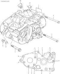 Suzuki ts125ert 1980 06 crankcase date 01 08 2013