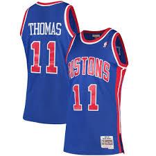 Hardwood Camiseta Thomas And Nba Classics Pistons Detroit Ness Mitchell Isiah