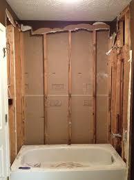retiling a shower