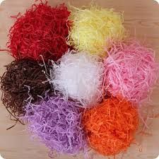 250g rafi shredding paper candy box shredded tissue paper gift wrapping her basket coloured packaging fillers