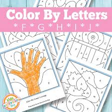 Check out our printable coloring pages selection for the very best in unique or custom, handmade pieces from our coloring books shops. Color By Letters F G H I J Free Kids Printable