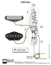 1953 tele wiring diagram seymour duncan telecaster build 1953 tele wiring diagram seymour duncan