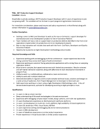 Gallery Of Resume Format For 2 Year Experienced It Professionals