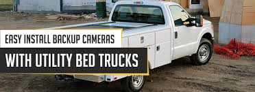 Utility Bed Truck Backup Camera
