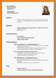 Resume For Internship No Experience How To Write The Perfect Resume With Little No Experience For