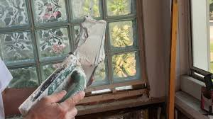 installing glass block window