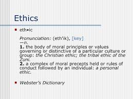 computer ethics ethics