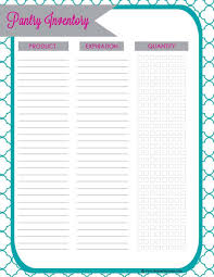 Free Inventory Sheets To Print 5 Pantry Inventory List Templates Word Templates