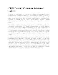 Custody Agreement Template Written Custody Agreement Template