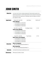 chronological resume template download resume template chronological free chronological hard worker resume