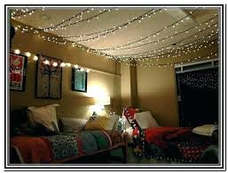 How To Hang String Lights From Ceiling Awesome How To Hang String Lights In Bedroom String Lights Ideas Bedroom How