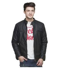 biker boys black leather jacket