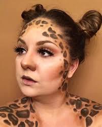 wonderful spots like giraffe sfx makeup