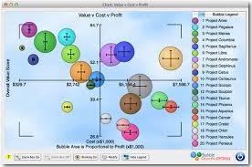 Bubble Chart Risk Management Project Portfolio Management Under Uncertainty Bubble