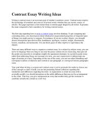 how to write a contrasting essay contrast essay writing ideas by kelsey margie issuu