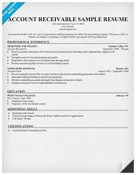 Account Receivable Resumes 35 Cute Images Of Accounts Receivable Resume Best Of