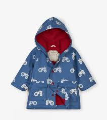 Hatley Baby Size Chart Farm Tractors Colour Changing Baby Raincoat