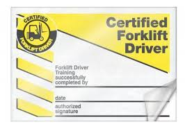Forklift Certification Cards Card Wallet Cards Card