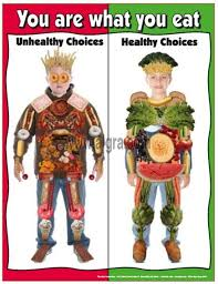Junk Food Healthy Food Chart Say No To Junk Food Poster For School Healthy Eating
