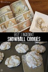 Yes, there are multi ingredients in these multigrain cookies, but that's what makes them so over the top. 3 Ingredient Snowball Cookies To Cook With Your Kids