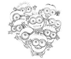 Small Picture Kids Minions Despicable Me Coloring Pages Cartoon Coloring pages