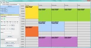 Free College Schedule Free College Schedule Maker 1 0 Download