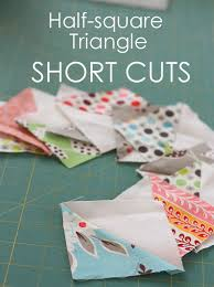 Half Square Triangle Short Cuts & I have been making a LOT of half-square-triangle quilt blocks recently. Half -square-triangles (or HST's) are one of the greatest basic building blocks  of ... Adamdwight.com