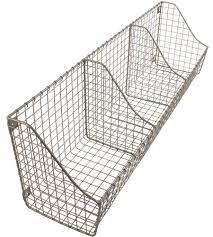 wall mounted storage basket image