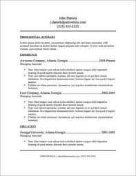 Most Professional Resume Format Unique Resumesample48 Resume Cv Examples Pinterest Sample Resume