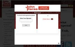 John Paras Furniture & Appliance on Foothill Blvd in Rock Springs