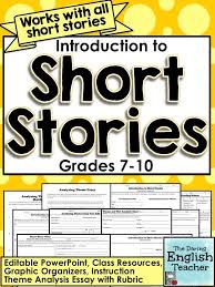 best short stories unit images teaching reading the daring english teacher includes some good recommendations for short stories