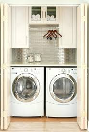 closet washer and dryer minimum size for stackable ideas dimensions