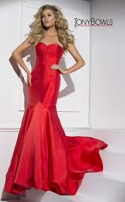 Strapless Trumpet Dress With A Sweetheart Neckline Click